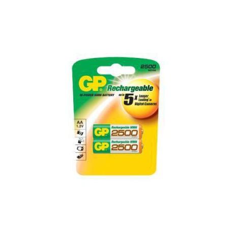Nabíjecí baterie GP RECYKO AA (2500mAh)- 2ks