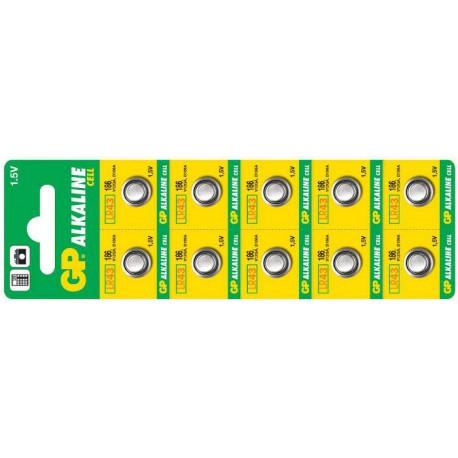 Alkalická Baterie GP 186 - 10ks