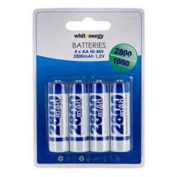 WE Nabíjecí baterie AA 2800mAh Ni-MH 4ks