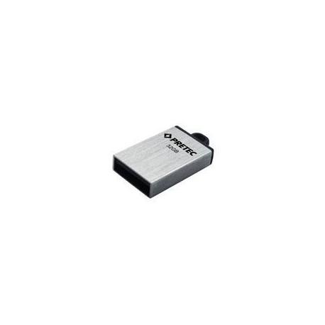 Pretec i-Disk Elite USB 2.0 8GB - stříbrný