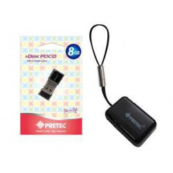 Pretec USB 2.0 i-Disk Poco 16GB - Černý
