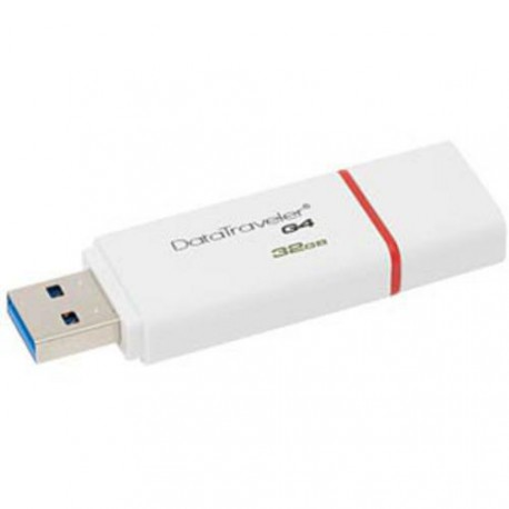 32GB Kingston USB 3.0 Data Traveler G4 červený