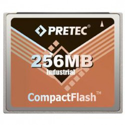 Industrial Pretec CF Card 256MB - Lynx Solution