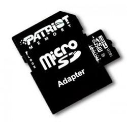 PATRIOT 16GB  microSDHC Class10 (s adaptérem)