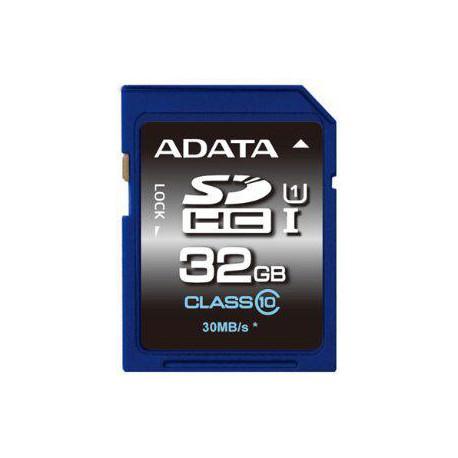 ADATA SDHC 32GB UHS-I Premier,Class 10