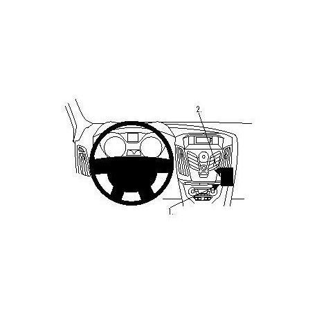Brodit ProClip montážní konzole pro Ford Focus 11-