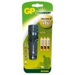 Svítilna LED GP LOE203 + 3 baterie GP AAA