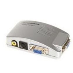 Převodník kompozit. signálu s-video/cinch na VGA
