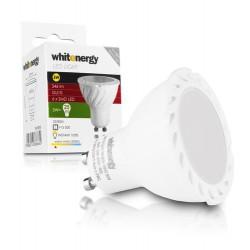 WE LED žárovka SMD2835 MR16 GU10 5W bílá mléčná