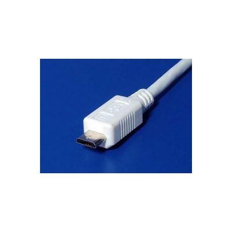 PremiumCord Kabel micro USB, A-B 2m