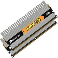 CORSAIR 4GB 2x2GB DDR2 PC6400 800MHz CL5-5-5-18 (XMS2 DHX kit 2ks 2048MB s chladičem DHX)