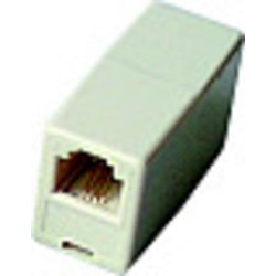 SPOJKA RJ12 UTP (2xF RJ12) pin6/6