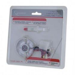 GEMBIRD Chladič ventilátor VGA VC-RD NEON ELOX