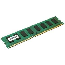 CRUCIAL 8GB DDR3 ECC Unbuffered 1600Hz PC3-12800 CL11 1.35V/1.50V Dual Voltage