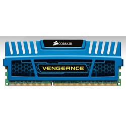 CORSAIR 8GB 2x4GB DDR3 1600MHz VENGEANCE BLUE PC3-12800 CL9-9-9-24 1.5V (8GB  kit 2ks 4096MB s chladičem Vengeance modrý, pro IN