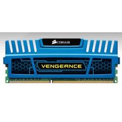 CORSAIR 4GB DDR3 1600MHz VENGEANCE BLUE PC3-12800 CL9-9-9-24 (s chladičem Vengeance modrý, pro INTEL i7/i5/i3 a pro AMD, 1.5V)