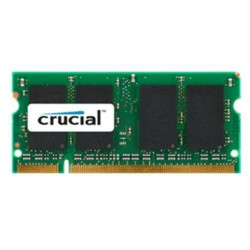 CRUCIAL 1GB DDR2 SO-DIMM 800MHz PC2-6400 CL6 1.80V