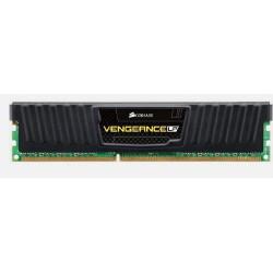 CORSAIR 4GB DDR3 1600MHz VENGEANCE LP BLACK LOW PROFILE PC3-12800 CL9-9-9-24 1.5V (4096MB s chladičem Vengeance černý, nízký pro