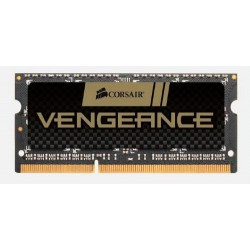 CORSAIR 8GB 2x4GB SO-DIMM DDR3 PC3-12800 1600MHz CL9-9-9-24 1.5V (black, kit 8GB   2ks 4096MB)