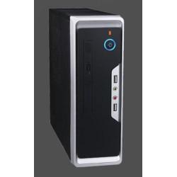 EUROCASE mini ITX WI-01 case, USB+audio, bez zdroje