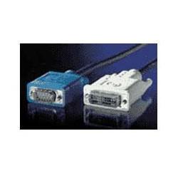 KABEL propojovací DVI-VGA,DVI-A(M)/MD15HD,3.0m