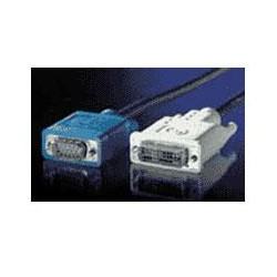 KABEL propojovací DVI-VGA,DVI-A(M)/MD15HD,5.0m