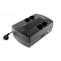 GEMBIRD záložní zdroj UPS EG-UPS-001 650VA AVR 4x běžná zásuvka