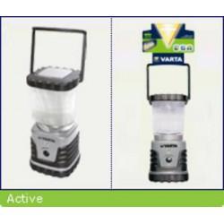 VARTA svítilna LED CAMPING LANTERN 4W kempingová (3xD, 4W, odolná)