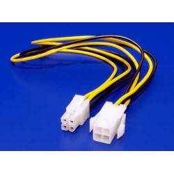 PremiumCord kabel napájecí prodluž. P4(4piny) 34cm