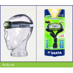 VARTA svítilna LED X4 HEAD náhlavní (3xAAA, odolná, nový design)