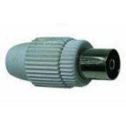 KONEKTOR anténní TV, IEC přímý-F, 75 Ohm