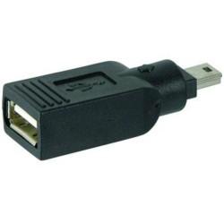 KABEL USB redukce USB A(F) - Mini USB(M)