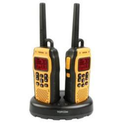 TOPCOM ProTalker PT-1078 LONG RANGE 2x vysílačka+ nabíječka+ baterie, odolná, vodotěsná, plave (volné pásmo 446 MHz)