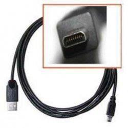 PremiumCord Kabel USB, A-B mini, 8pinů, 2m Sanyo, Panasonic LUMIX