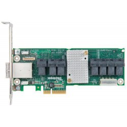 ADAPTEC SAS Expander 82885T Single 36 portů (28x int. 8x ext.), x4 PCIe či Auxiliary 4pin power konektor,