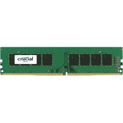 4GB DDR4-2133 MHz Crucial CL15 SRx8