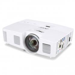 Acer DLP S1383WHne (ShortThrow) - 3100Lm, WXGA, 13000:1, HDMI, VGA, USB, RJ45, repro. bílý