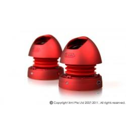 X-mini MAX v1.1 stereo speaker 2ks, červená