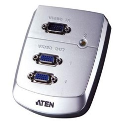 ATEN Video rozbočovač 1PC - 2VGA 250Mhz