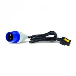 Power Cord, Locking C19 to IEC309-16A, 3.0m