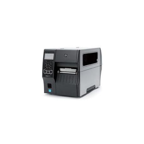 """Zebra ZT410,4""""300dpi,Ser,USB,BT,Cutter,Catch Tray"""