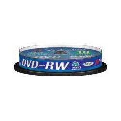 VERBATIM 43552 DVD-RW 10cake 4x media (krabice 20x10pack)