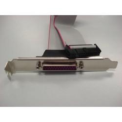 ASROCK LPT-PORT pro motherboardy ASROCK (1x LPT/PRN port 25pin, záslepka, bracket)