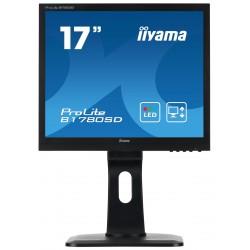 "17"" LCD iiyama Prolite B1780SD-B1 - 5ms,250cd/m2,1000:1,5:4,VGA,DVI,repro,pivot,výšk.nastav.černý"