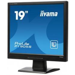 """19"""" LCD iiyama P1905S-B2 - SXGA,5ms,250cd/m2, VGA,DVI,repro + tvrzené sklo"""