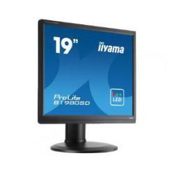 "19"" LCD iiyama Prolite B1980SD-B1 - 5ms,250cd/m2,1000:1,5:4,VGA,DVI,repro,pivot,výšk.nastav.černý"