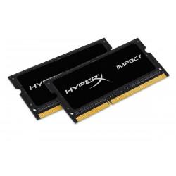 2x8GB 1866MHz DDR3L CL11 SODIMM  1.35V HyperX Impact Black