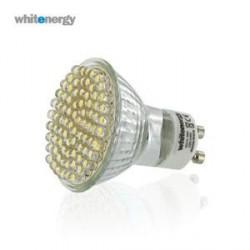 WE LED žárovka 80xLED 3W GU10230V teplá bílá