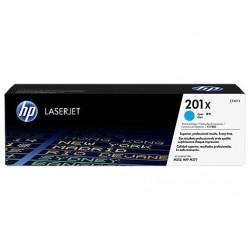 HP 201X tisková kazeta azurová velká, CF401X