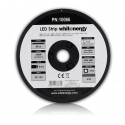 WE LED páska 50m SMD3528 4.8W/m 8mm teplá bílá